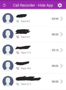 3 mejores aplicaciones para espiar celulares Android completamente gratis Andy call recorder hide app apk