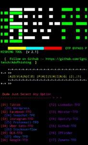 AdvPhishing Termux 2021 Herramienta Hacker comandos Hacker
